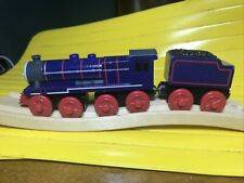 Thomas & Friends Wooden Railway Train Tank Engine - Hank w/ Tender -