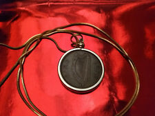 """1953 IRISH Half Penny Pendant on an 18K  24"""" GOLD FILLED ROUND SNAKE CHAIN"""