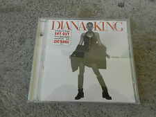 DIANA KING-TOUGHER THAN LOVE-CD-HYPE STICKER-SIGNED-AUTOGRAPHED-LN