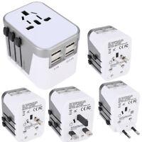 Universal 4 USB Ports International Travel Wall Charger Adapter Power Converter