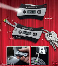 Genuine SWISS+TECH BodyGard Tyre Safety KeyChain 6-in-1 Multi Tool ST85000