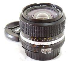 Nikon 24mm f/2.8 Nikkor AIS lens MINT #37645