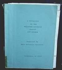 A Genealogy of the Tolander-Anderson Family and Others, 1970, Iowa, Calendar '04