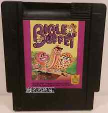 Bible Buffet (Nintendo) NES LOOSE! RARE