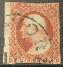 UNITED STATES 1851-1857 IMPERF SG12a USED CAT £150