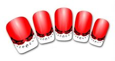 3D Nail Art Sticker Decals Transfer Stickers French Tip Design (3D802)