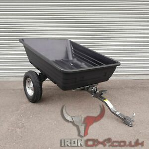 Quad ATV Tipping Trailer   Iron Ox®   EQUESTRIAN OFF ROAD TRAILER   STABLES