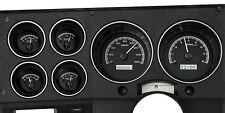 1973-87 Chevy C10 Truck Black Alloy & White Dakota Digital VHX Analog Gauge Kit