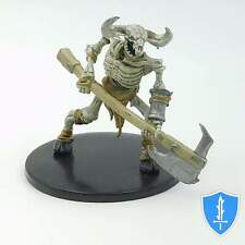 Minotaur Skeleton (axe) - Waterdeep Dungeon of the Mad Mage #32A D&D Miniature
