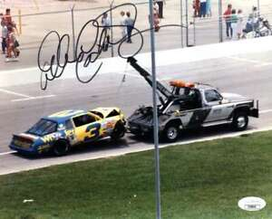 Dale Earnhardt Sr JSA Coa Hand Signed 8x10 Photo Autograph