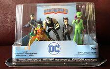 Funko HeroWorld Set DC Super Hero Toy Figures Series 8 Brand new collectible