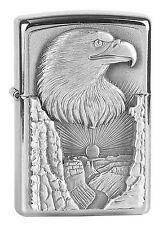 ZIPPO accendino Eagle Grand Canyon emblema trucco-ZIPPO aquila tra uccelli NUOVO OVP