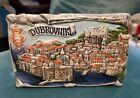 DUBROVNIK Croatia  Painted Ceramic Shelf Plaque Display Unique