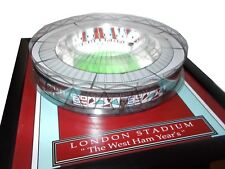 WEST HAM LONDON STADIUM MODEL WITH WORKING FLOODLIGHTS