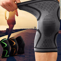 2PCS Knee Sleeve Compression Brace Support For Sport Joint Pain Arthritis Relief