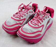 Altra Paradigm Women US 6.5 White/ Pink  Running Shoe Pre Owned  Athletic shoes
