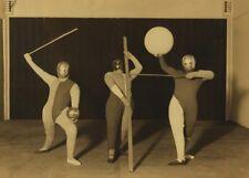 Das Triadische Ballet 1924 Oskar Schlemmer Vintage Bauhaus Ballet Poster