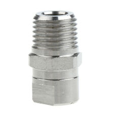 "HU-SS6520 High Pressure Spray Fan Nozzle Tip 1/4"" Pressure Washer Parts"
