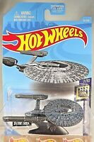 2019 Hot Wheels #52 Star Trek Screen Time 7/10 U.S.S. VENGEANCE Dark Metal Gray