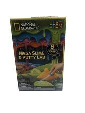 National Geographic Mega Slime & Putty Lab 8 Varieties Children's 8-11