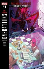 GENERATIONS MORALES & PARKER SPIDER-MAN #1 Marvel Comics (2017)