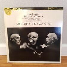 Arturo Toscanini no 9 - Laserdisc