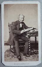 Photo Cdv Albuminé Homme Par Bousseton et Appert Paris Vers 1860