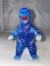 """Y-MSF 6.5"""" GODZILLA 1965 RARE BLUE GLITTER ONLY 10 PIECES PRODUCED!"""