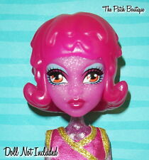 MONSTER HIGH CREATE A MONSTER CAM DOLL REPLACEMENT PINK ICE BLOB WIG ONLY