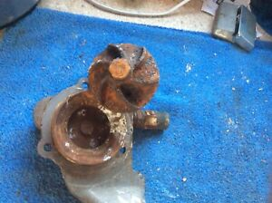 Triumph Dolomite Sprint 6 Vane Water Pump And Cover Will Separate