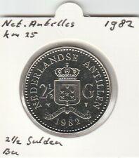 Netherlands Antilles 2 1/2 gulden 1982 BU - KM25