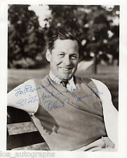 Bobby Jones vintage hand SIGNED golf legend 8x10 photo JSA LOA RARE