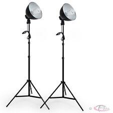 2x Profi Fotostudio Studioleuchte Studioset Softbox Studiolampe mit Stativ Photo