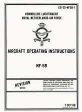NORTHROP NF-5B - AIRCRAFT OPERATING INSTRUCTIONS - KLu