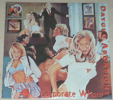 Dayglo Abortions - Corporate Whores LP - New / Sealed / Vinyl (2008) Punk rock