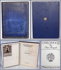 Antique 1913 Book Childhood by Alice Meynell First Edition