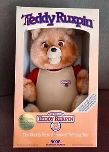 TEDDY RUXPIN 1985 - Original Issue - NIB - Unopened - Extra Book Included