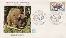 FRANCE FDC - 887 1795 3 BISON D'EUROPE 25 5 1974 - LUXE