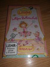 PC-Spiel - Prinzessin Lillifee - Lillifees Ballettschule - CD Rom - NEU
