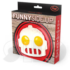 Funny Side up by Fred - Robot shaped Egg ring in GIFT BOX Robot face