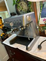 NOT WORKING Correctly Breville BES870XL Espresso Machine PARTS ONLY Needs Repair