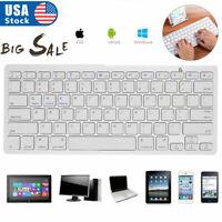Bluetooth Wireless Keyboard for iPad Mackbook iMac Windows PC Laptop Tablet SALE