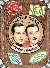 On the Road with Bob Hope and Bing Crosby (DVD, 2004) NEW Sealed