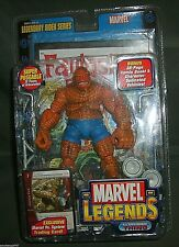 Marvel Legends the THING Action Figure w/Comic Book & Trading Card, 2005 NIP