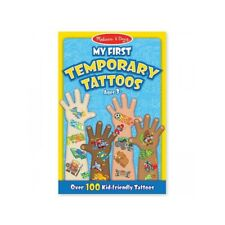Melissa and Doug My First Temporary Tattoos - Blue