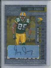 GREG JENNINGS 2006 PLAYOFF CONTENDERS ROOKIE TICKET TRUE RC AUTO #168