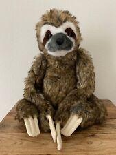 """Melissa & Doug Plush Sloth Stuffed Animal 16"""" Tropical Forest Huggable"""