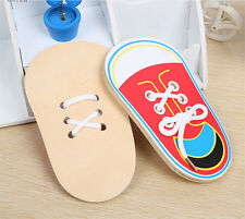 Learn To Lace Tie Shoes Practice Lacing Learning Shoe Children's Shoelace Rs