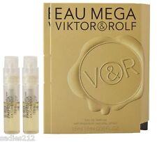 VIKTOR & ROLF EAU MEGA EDP Women 1.5ml .05oz Travel Spray Sample Vial X2