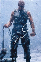 Vin Diesel Signed Autograph The Chronicles of Riddick 4x6 Card wCOA